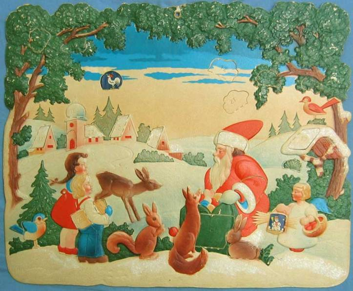 antique advent calendar